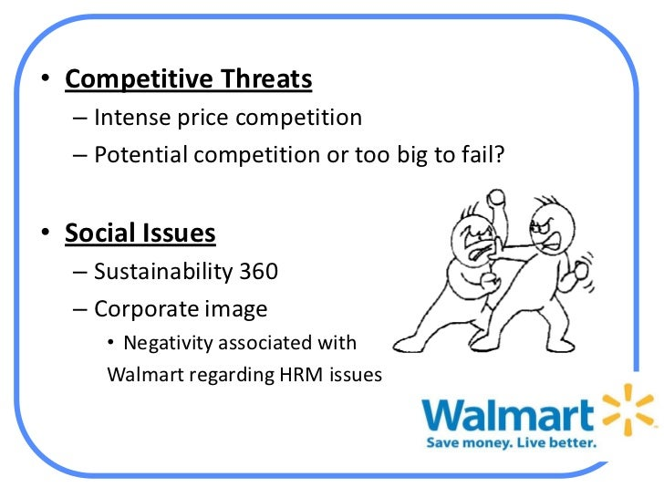 wal mart strategy analysis Executive summary at the beginning of 2009, wal-mart top management faces the question of whether the same strategy that it has been adopti.