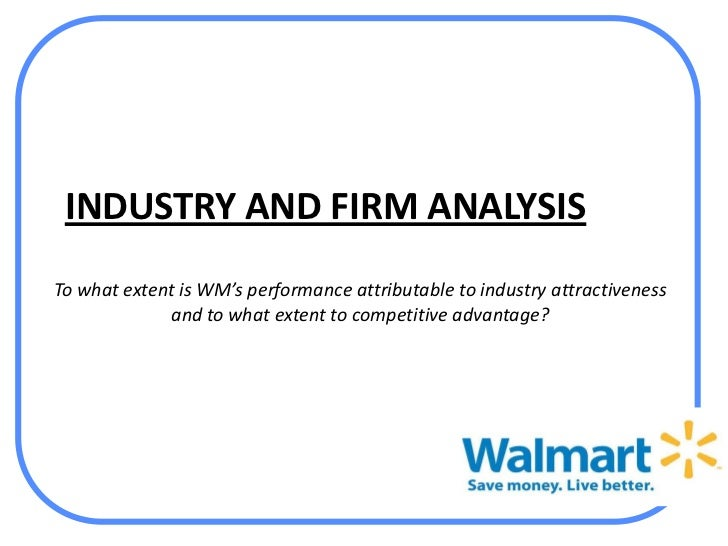 analysis of walmarts managerial operational and Environmental scanning refers to possession and utilization of production & operations management internal analysis of the environment is the first step of.