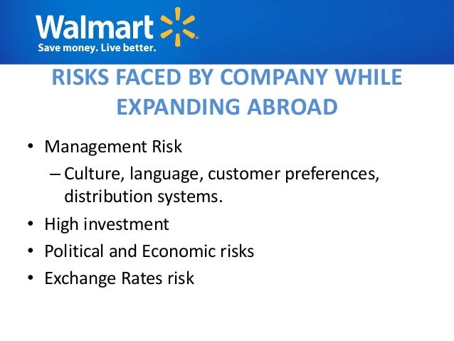 walmart political risks Data and research on export credits including arrangements, ships, nuclear power plants, civil aircraft, climate change mitigation, water projects, rail infrastructure, the country risk classifications of the participants to the arrangement on officially supported export credits are the most fundamental building block of the arrangement rules.