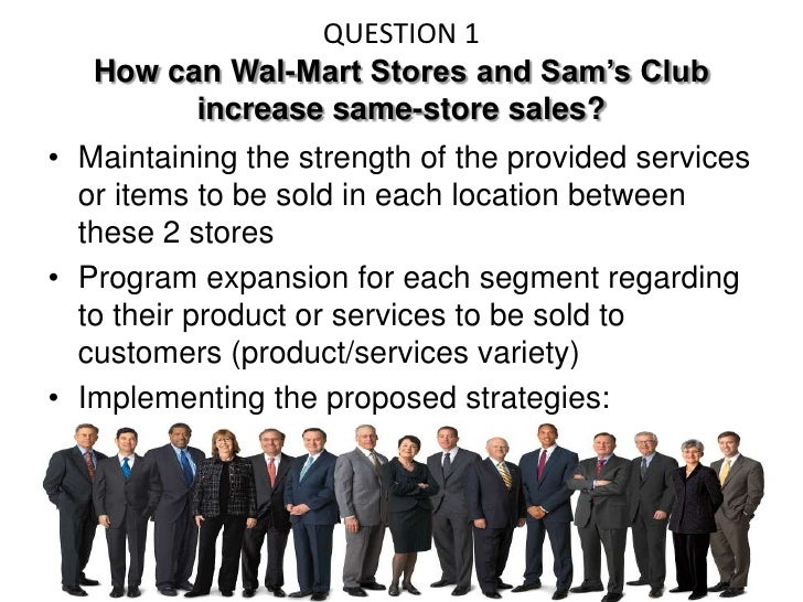 wal mart case study questions Walmart then concentrated on developing a more highly structured and  advanced supply chain management strategy to exploit and enhance.