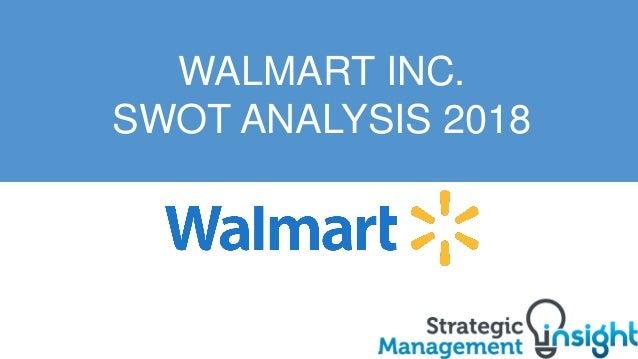 Walmart SWOT Analysis 2018