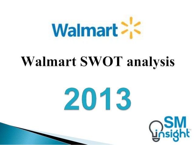 Walmart swot analysis College paper Example