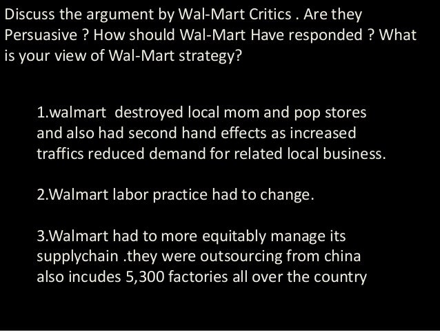 Wal-Mart's China Connections