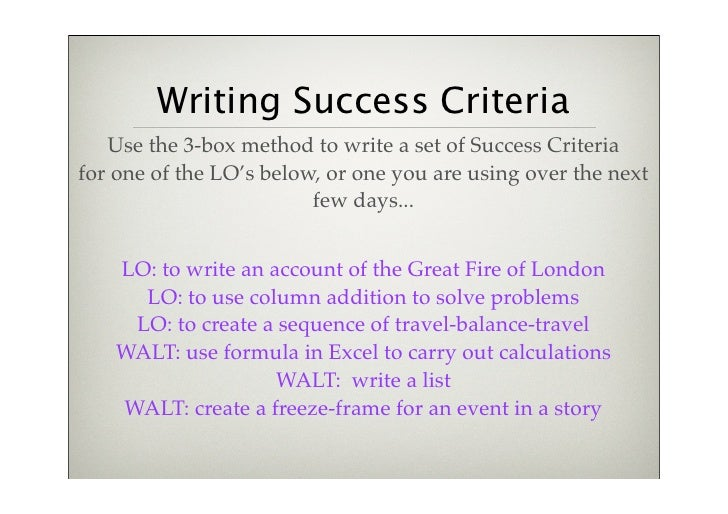 The Definitive Guide to Project Success Criteria