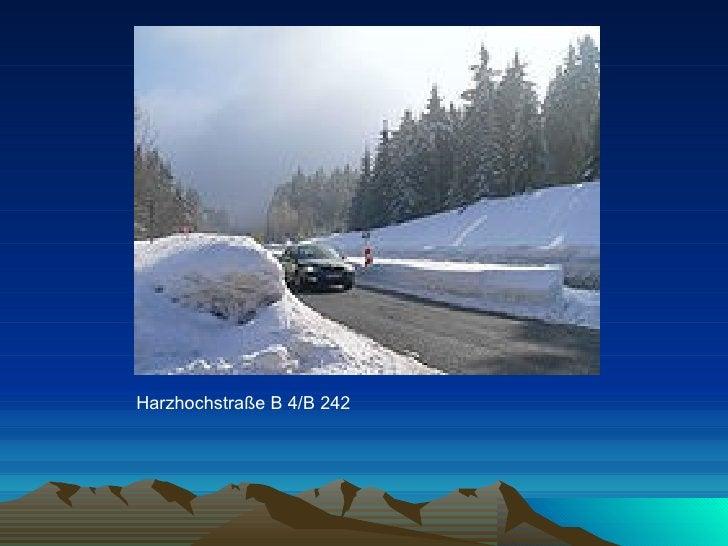Harzhochstraße B4/B242