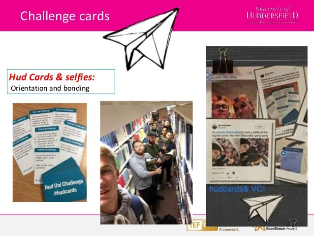 Challenge cards Hud Cards & selfies: Orientation and bonding