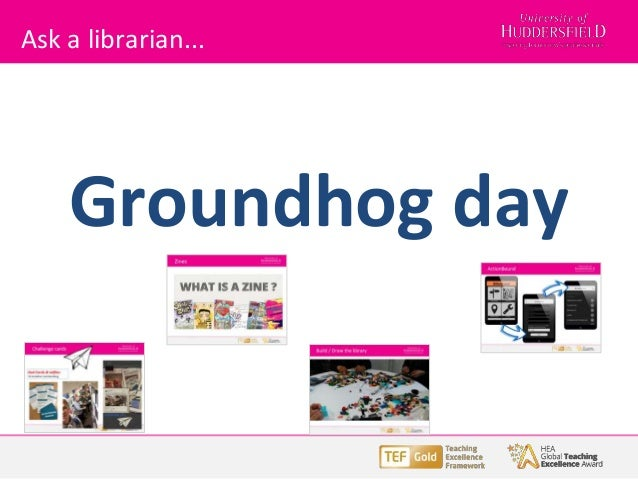 Ask a librarian... Groundhog day