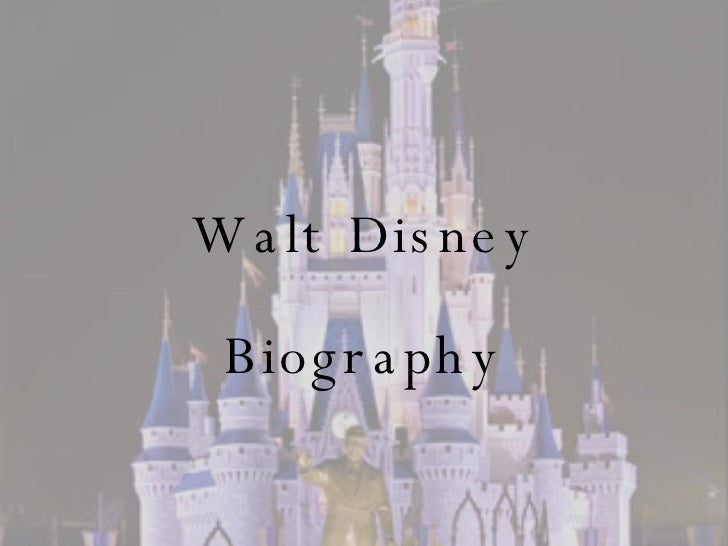 an analysis of the importance of walt disneys accomplishments The walt disney image, management techniques, and products are known throughout the world, yet surprisingly few studies have been conducted to discover how the disney corporation and its resulting products manage to be all that they are.