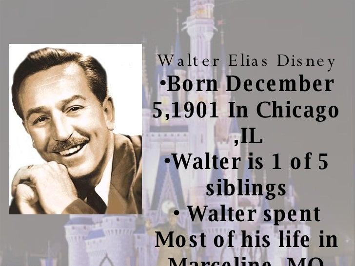 Walt Disney Bio