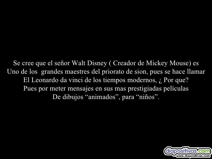 Walt Disney Vs Codigo Da Vinci Diapositivas