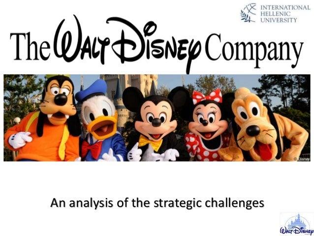 company analysis the walt disney company