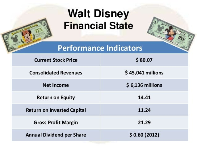 financial analysis of disney The walt disney company is one of the largest media and  current disney  parks and resorts overseas, specifically shanghai additionally  financial  analysis.