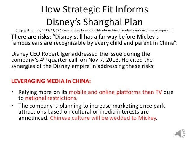 disney strategic initiative paper Kevin mayer, who has served as disney's chief strategy officer since  to more  closely align with the company's direct-to-consumer initiatives,.