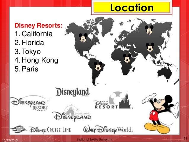 Walt Disney Company (Case Study)