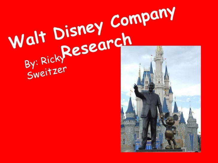The Walt Disney Company Essays and Research Papers