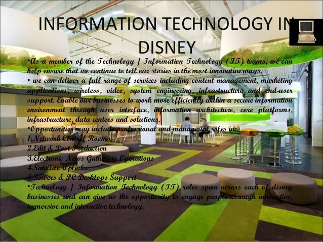 disney information systems For participation in the disney college program for over ten years at the walt disney world information systems disney college program about the.
