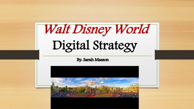 strategic change management of walt disneyland resort marketing essay While i'm a doctor of change management, i handle mostly seniors, which doesn't pay much because of the prohibitive $450 per trip, i can only take them a couple times each year  walt disney .