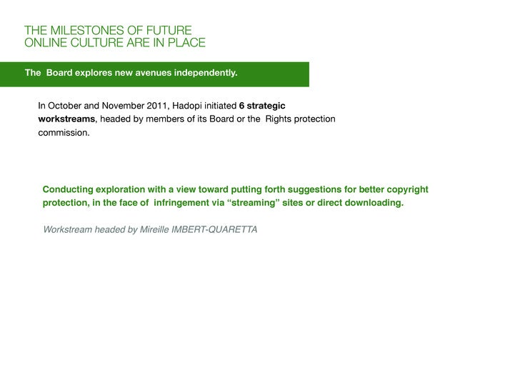 THE MILESTONES OF FUTUREONLINE CULTURE ARE IN PLACEThe Board explores new avenues independently.  In October and November ...