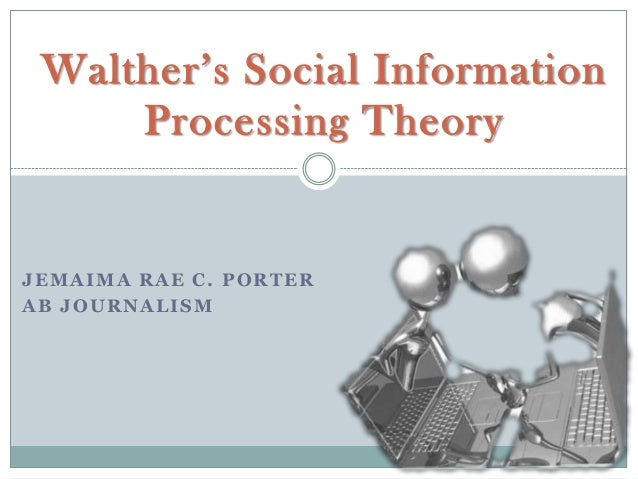 Social information processing (theory)