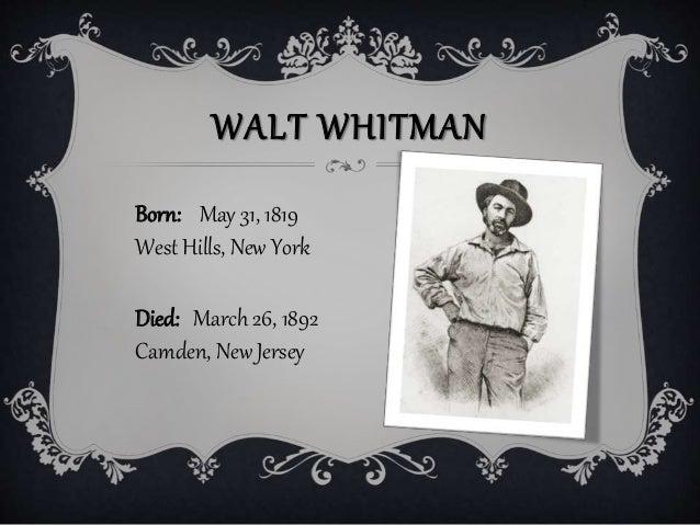 Walt Whitman Newspaper Long Islander