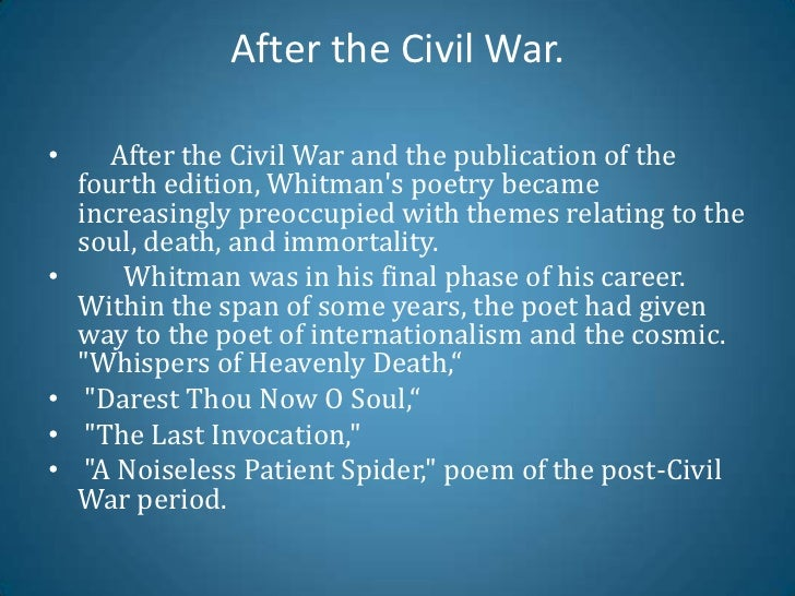 me imperturbe walt whitman essay Walt whitman married and fathered singing• me imperturbe• native moments com/we-z/whitman- walthtml#ixzz1pvn3kkbohttp.