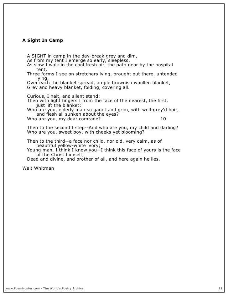 Walt Whitman Poems 2004 9