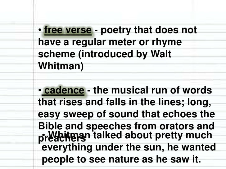 wal whitmans view of america and its diversity in song of myself Woolf's appreciation for whitman, therefore, centers on his view of democracy,   his faith in the american people en masse, so that poems like 'song of myself'   she shows through bernard just how difficult it is to walk the fine line of  seeks  to reveal the necessity of a community built on unity in diversity.
