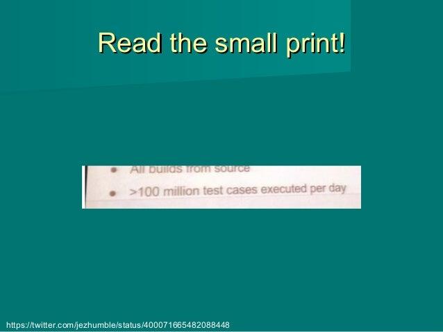 Read the small print!Read the small print! https://twitter.com/jezhumble/status/400071665482088448