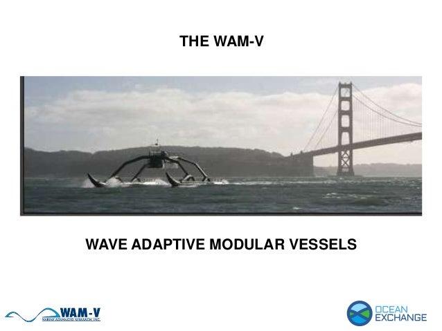 THE WAM-V WAVE ADAPTIVE MODULAR VESSELS