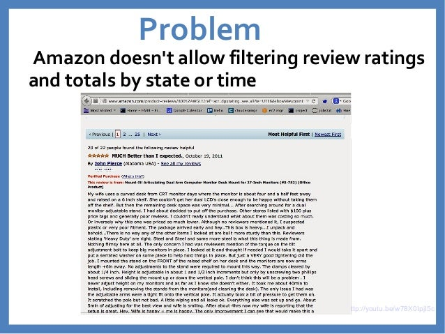 FARROT - Filter Amazon Review Ratings Over Time Slide 2
