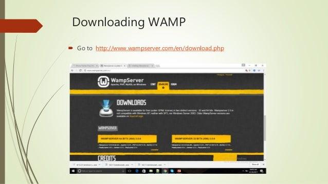 Wampserver installation ajay-di-sharma