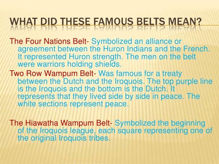 Wampum Belt Powerpoint