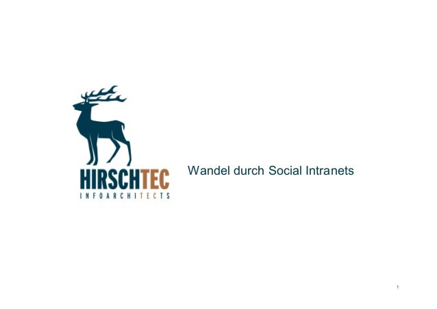 1 Wandel durch Social Intranets