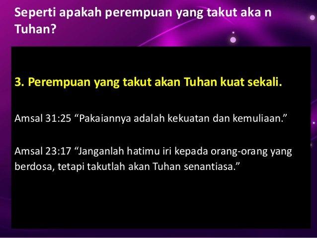 Wanita Cinta Tuhan
