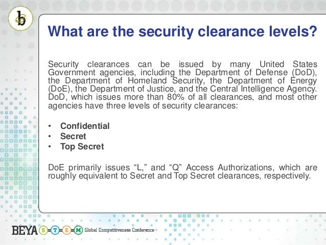 Want a Security clearance? This is what you need to know