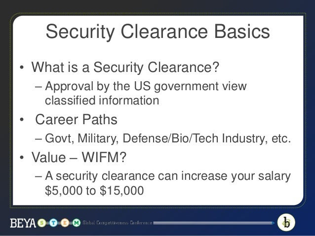 Want a Security Clearance: This is what you need to know