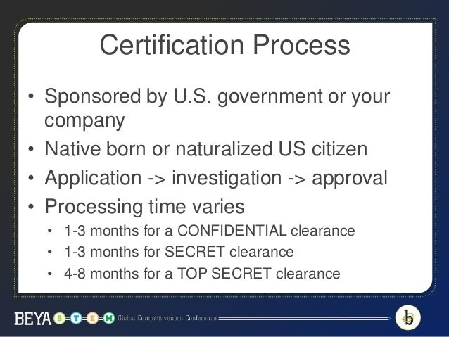 Want A Security Clearance This Is What You Need To Know