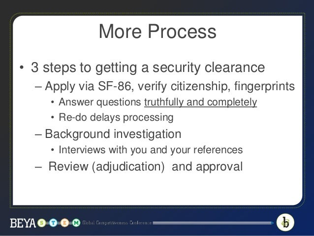 how to get secret security clearance