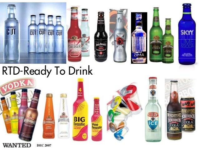 RTD-Ready To Drink        y      DEC 2007
