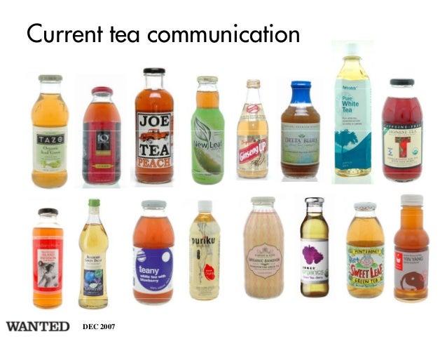 Current tea communication     DEC 2007