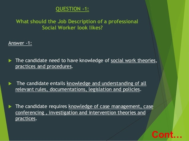 a study of the profession of a social worker The convenient way to study a social care course  study from home at your own pace a social carer helps  you can learn about this profession with our social.
