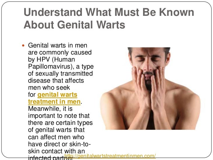 dating a man with genital warts