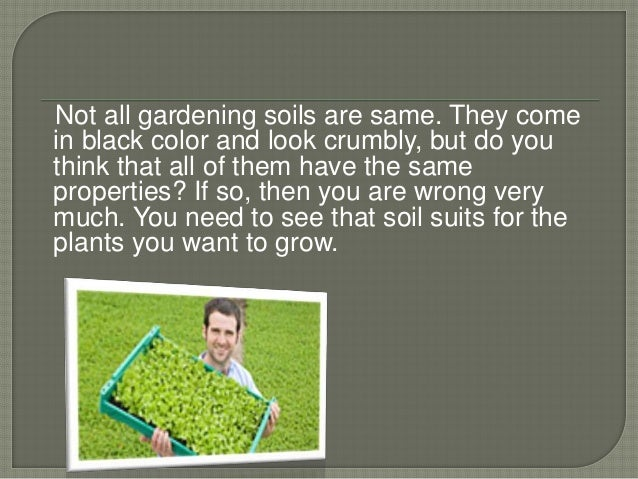 Want to know all about soil amendments for All about soil