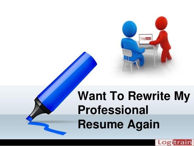 SlideShare  Rewrite My Resume
