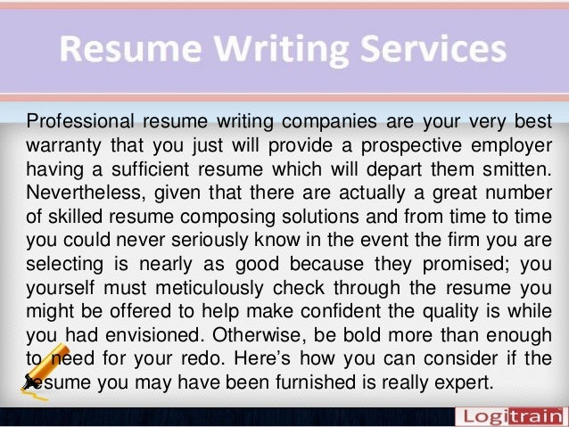 3. Professional Resume Writing Companies ...  Rewrite My Resume
