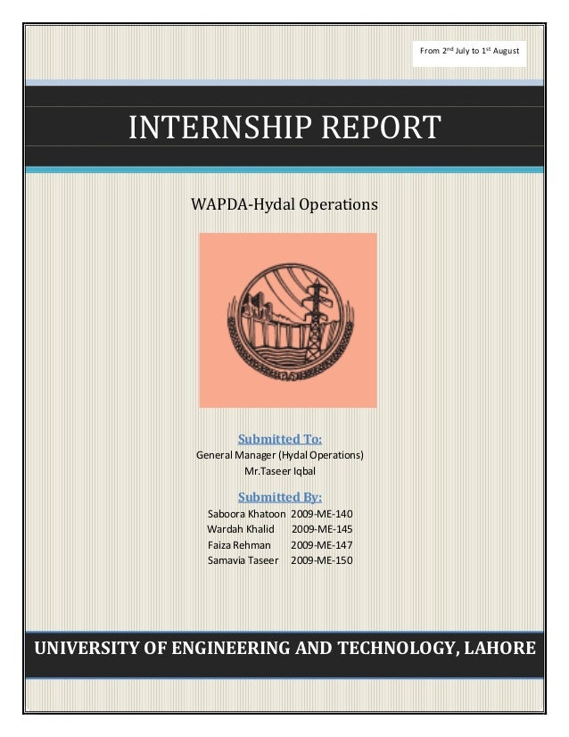 istd internship report An internship report is a document that reviews your experience at a company as an intern completing an internship is considered by your evaluators as a decisive step in your education, and as such, your report must put forth all that you have learned during the experience.