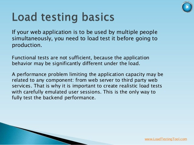 WAPT - Web Load, Stress and Performance Testing