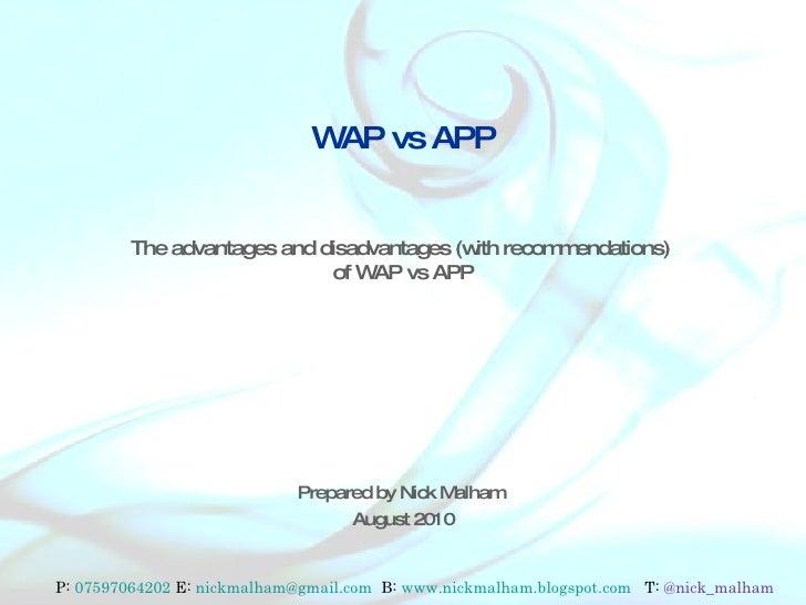 wap in line app