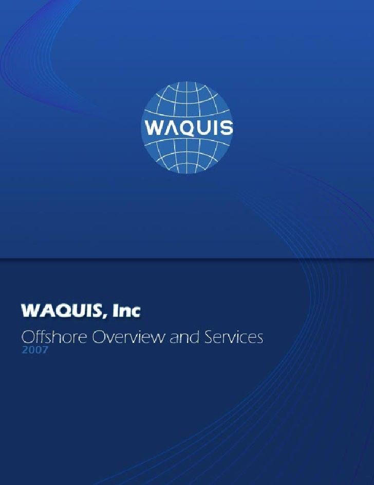 Waquis PDF Brochure.