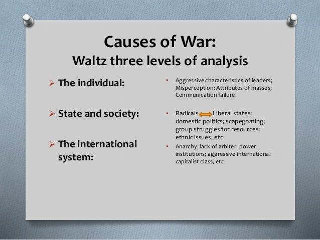 three causes of war